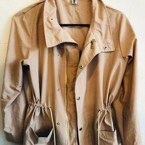Brown/ Tan Utility Jacket